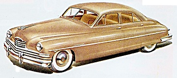 1950 Packard car