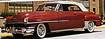 1951 Chrysler Windsor car