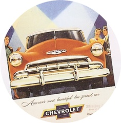 Chevy cars of the 1950s