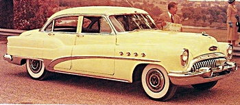 1953 Buick Roadmaster car
