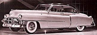 1953 Cadillac Series 62 car