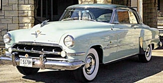 54 Chrysler Imperial car