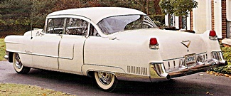 1955 Cadillac fleetwood car