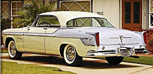 1955 Chrysler Windsor car