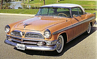 55 Chrysler New Yorker car