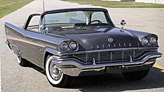 1957 Chrysler New Yorker car