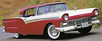 1957 Ford Fairlane car