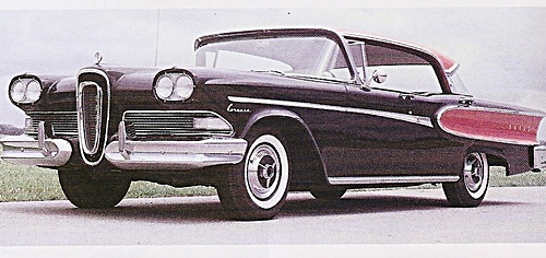 1958 Edsel car