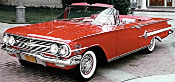 1960 Red Chevy