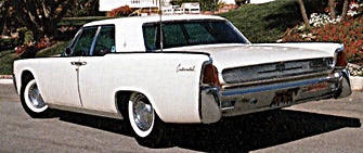 1961 Lincoln cars