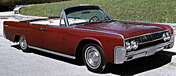1962 Lincoln Continental car