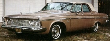 1963 Plymouth automobile