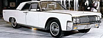 1963 Lincoln automobile