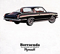 1964 plymouth barracuda auto
