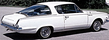 1964 barracuda car