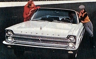 1965 plymouth fury car