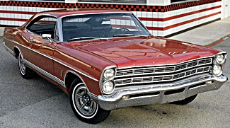 1966 Ford Galaxie car