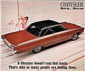 1968 Chrysler car