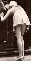 1960s mini skirt