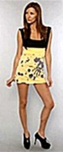 mini dress with flower power