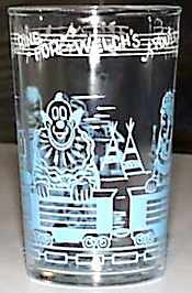 Welch's Howdy Doody Glass