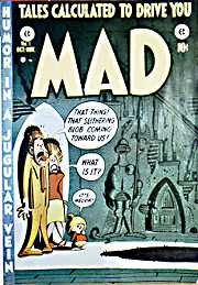 Mad Magazine 1st cover