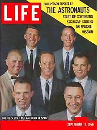 7 Mercury Astronauts
