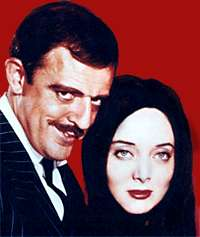 Addams Family - John Astin, Carolyn Jones