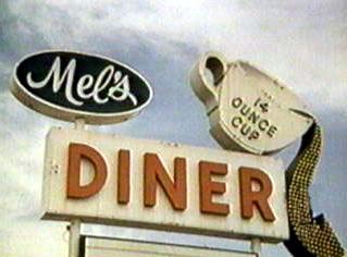 Mel's Diner - 1970s TV