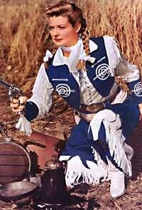 TV Western - Annie Oakley - Gail Davis