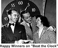 50s game show - Beat The Clock