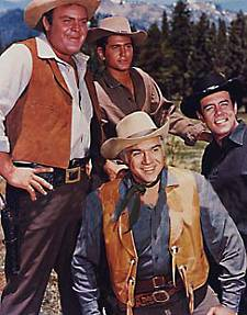Bonanza - Lorne Greene, Michael Landon