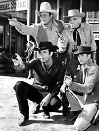 Bonanza - Michale Landon, Dan Blocker