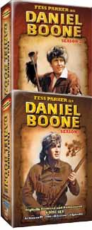 Daniel Boone on DVD