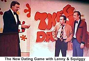 the dating game host jim lange blowing