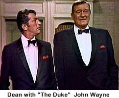 60s variety show Dean Martin John Wayne