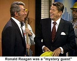 ronald reagan on the dean martin show