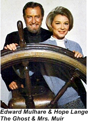 Edward Mulhare & Hope Lange