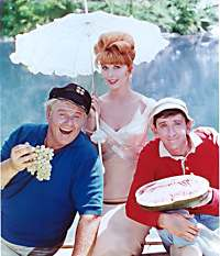 Gilligans Island - Bob Denver, Alan Hale, Tina Louise, Jim Backus,