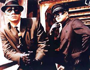 Green Hornet - Bruce lee - Van Williams