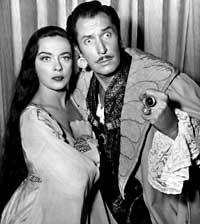Vincent Price, Richard Boone
