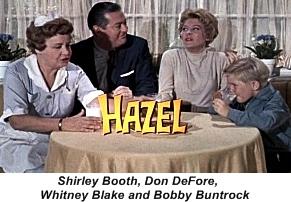 Hazel 1960s tv show