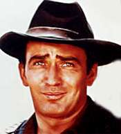 James Drury as the Virginian