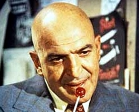 70s tv cop show starring Telly Savalas