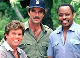 Tom Selleck, Larry Manetti, Roger Mosely