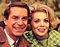 Martin Landau and Barbara Bain