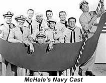Ernest Bornine and crew of McHale Navy