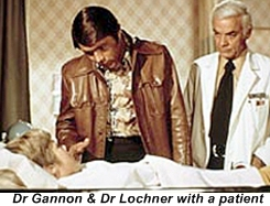 Dr Gannon & Dr Lochner with a patient