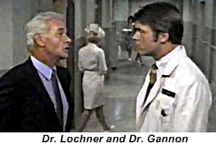 James Daly and Chad Everett