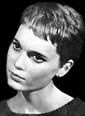 Mia Farrow on Peyton Place